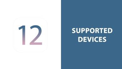 أجهزة أبل المدعومة لنظام iOS 12