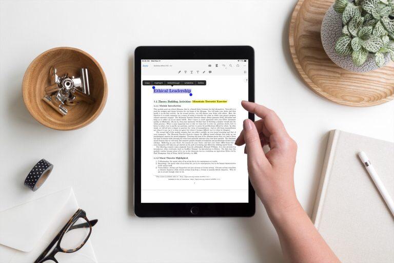 افضل تطبيقات قرائة الكتب PDF على اجهزة الايباد iPad