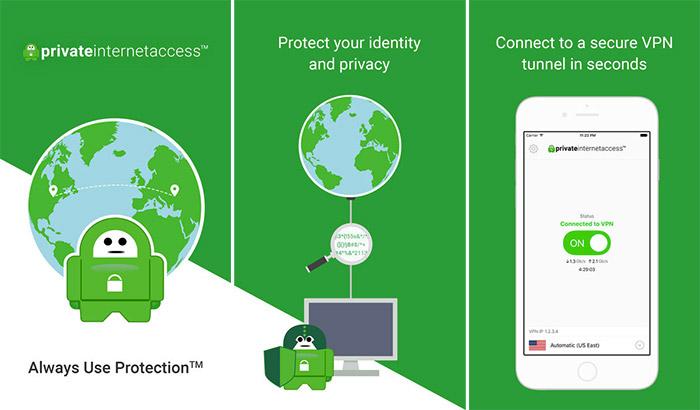 صورة برنامج Private Internet Access VPN