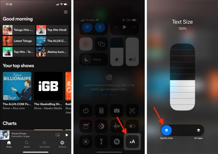 كيفية زيادة حجم الخط على iPhone و iPad (إصدار iOS 15)