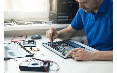 Laptop repair shop in charni road