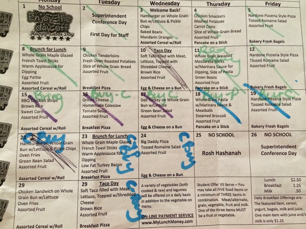 Tips to TRY and Keep Organized During the School Week