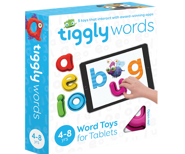 Tiggly Words Review & Giveaway