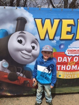 Thomas and Percy at Essex Steam Train