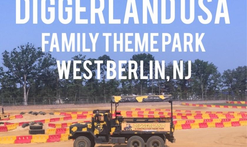 Diggerland USA Construction Theme Park