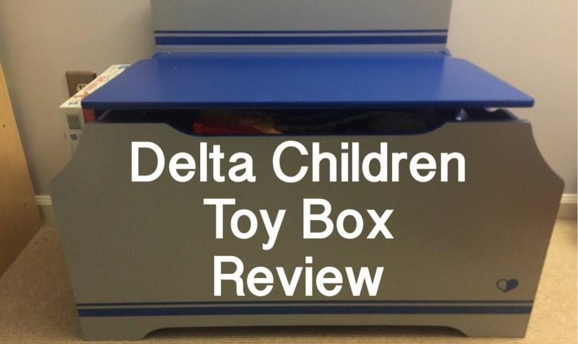 Delta Children Toy Box Review