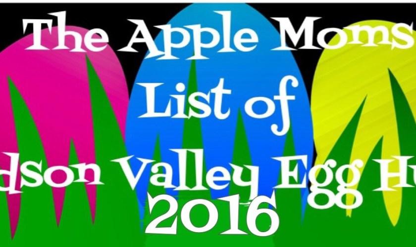 2016 List of Hudson Valley Egg Hunts