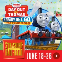 GIVEAWAY: Day Out with Thomas STRASBURG PA 2016