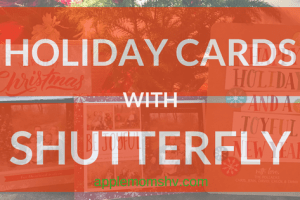 Holiday Cards with Shutterfly
