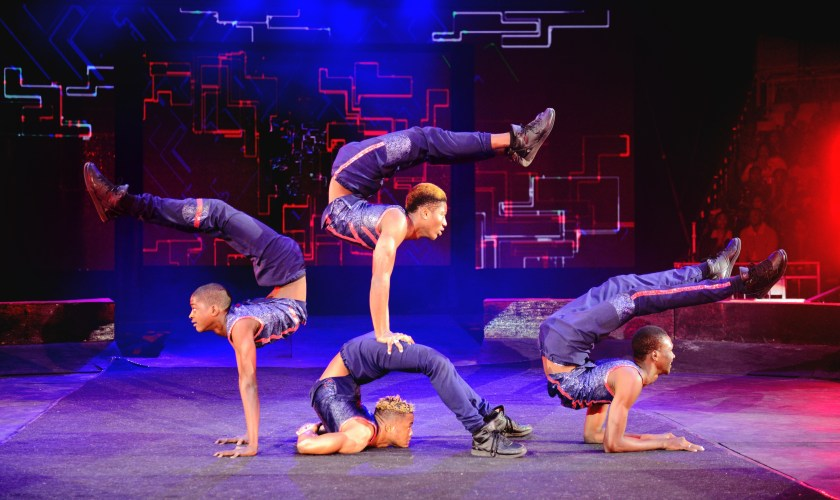 SHOW:  UniverSoul Circus