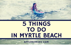 TRAVEL: 5 Things to Do in Myrtle Beach