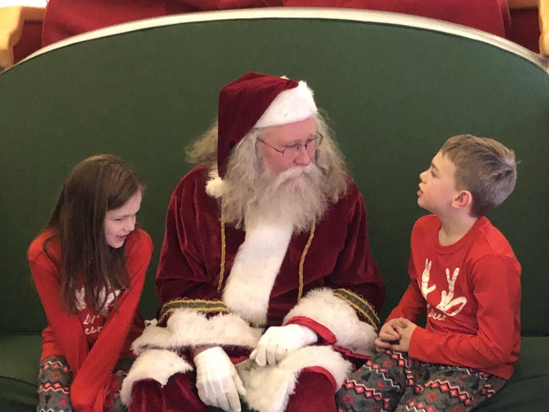 #SantaHQ at Danbury Fair Mall