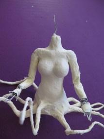 """Octonidia"" in progress - Sarah Y. Varnam"