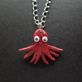 Cute little octopus necklace
