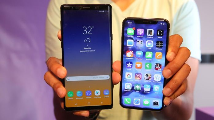 iPhone X Beat Samsung's new Galaxy Note 9 in benchmark tests