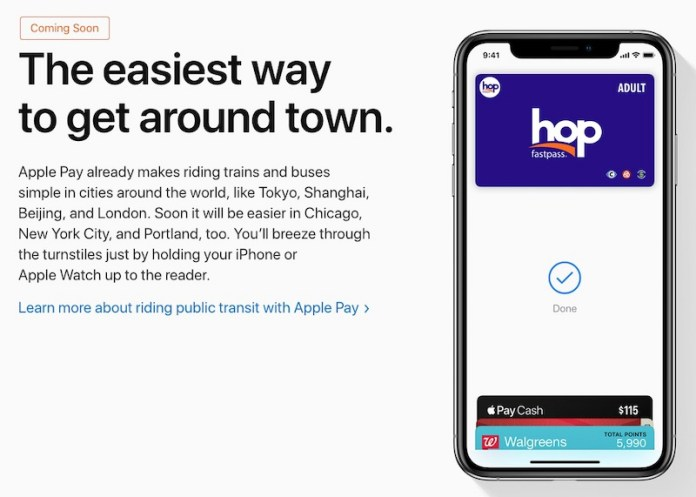 Apple Pay Transit may expand to new card types