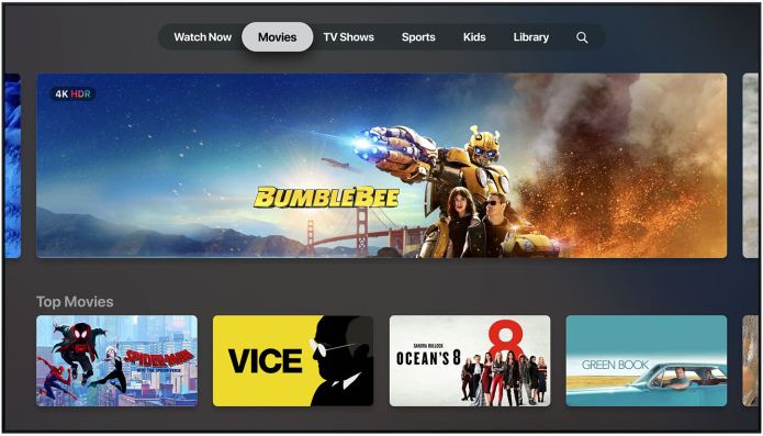 Apple releases third beta of tvOS 13 to Developers