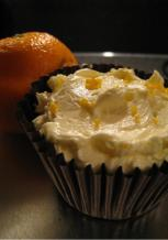 Clementine cupcakes