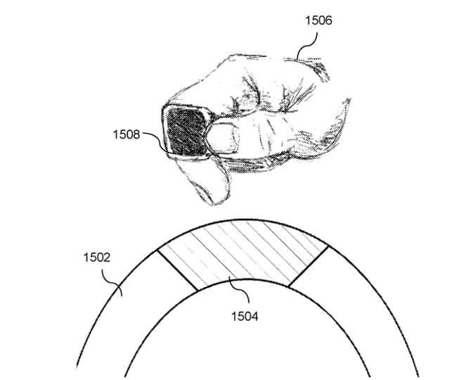 В патенте также описаны различные способы зарядки кольца, в том числе разъем на рулевом колесе автомобиля.