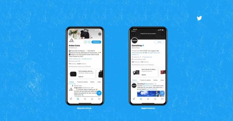 Twitter Shopping - пилотный проект, запускаемый в США.