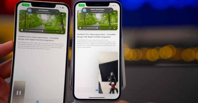 Apple заявляет, что SharePlay не будет включен в первоначальный выпуск iOS 15 этой осенью