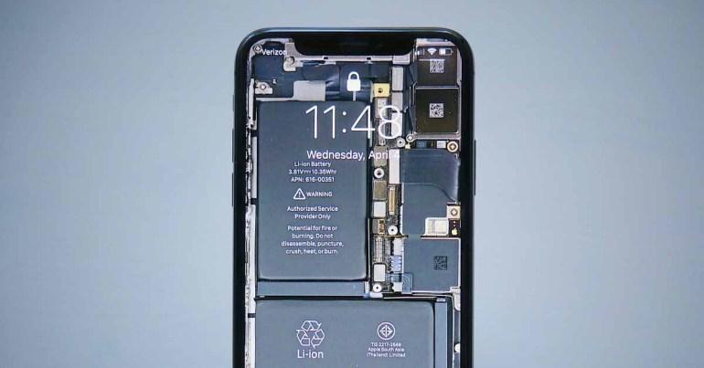 Более тонкие чипы могут увеличить емкость аккумулятора iPhone с 2023 года