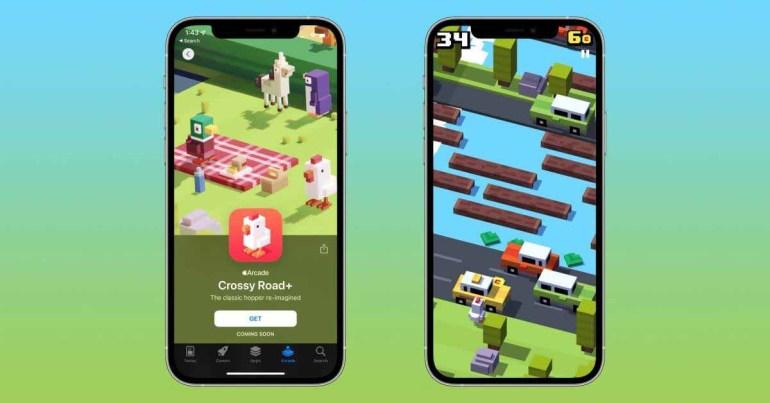 iOS Classic Crossy Road скоро приземлится на Apple Arcade