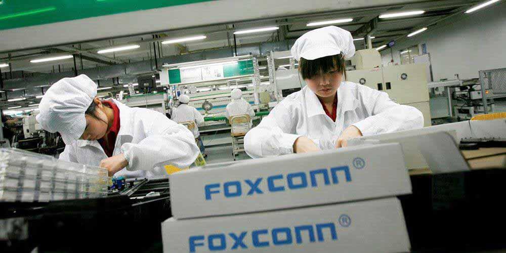 Крупнейшие iPhone-заводы Foxconn