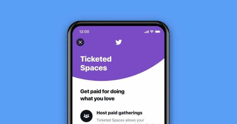 Twitter запускает Ticketed Spaces для пользователей iPhone