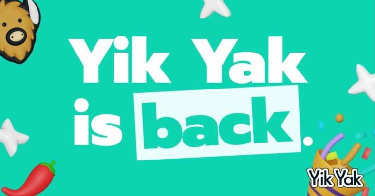 Yik Yak для iOS вернулся после четырехлетнего перерыва