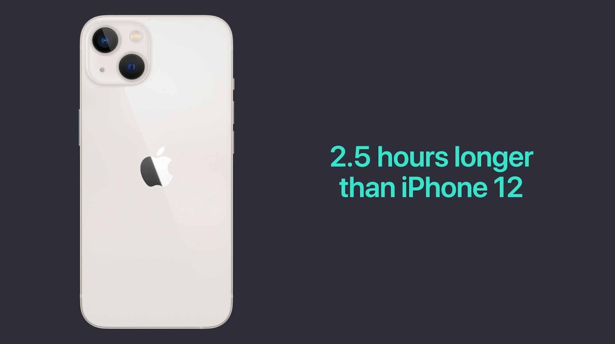Время автономной работы iPhone 13 и iPhone 12
