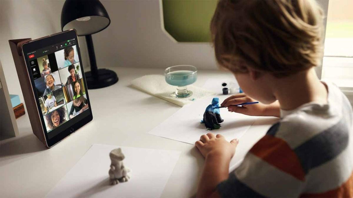 Фронтальная камера на iPad 2021 года подверглась серьезному обновлению.