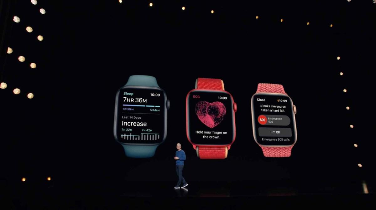 Сравнение Apple Watch Series 7 - Основные характеристики