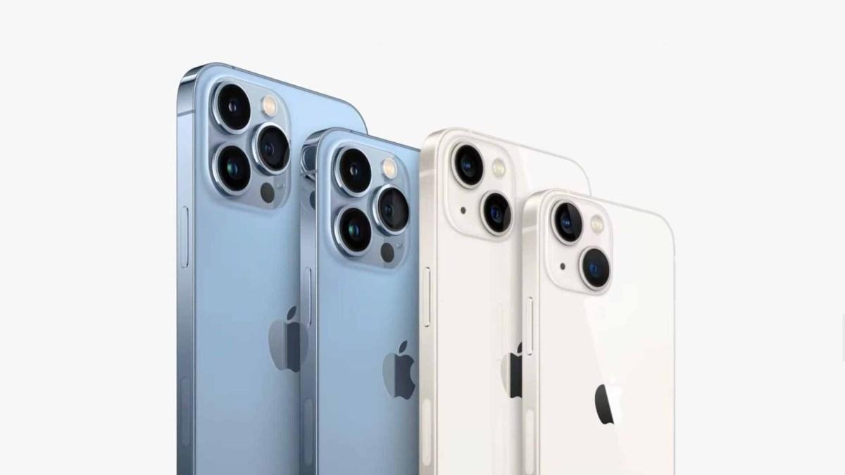 Все модели iPhone 13