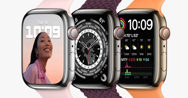 Apple Watch Series 7 имеют тот же процессор, что и Series 6.
