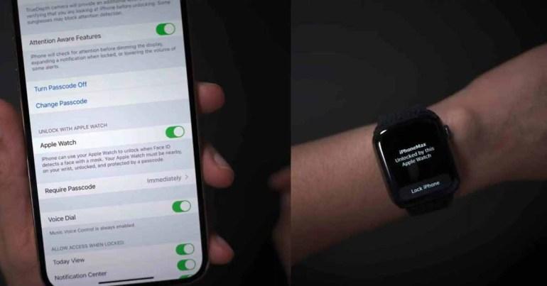 iOS 15.1 beta 2 исправляет ошибку разблокировки с помощью Apple Watch для пользователей iPhone 13