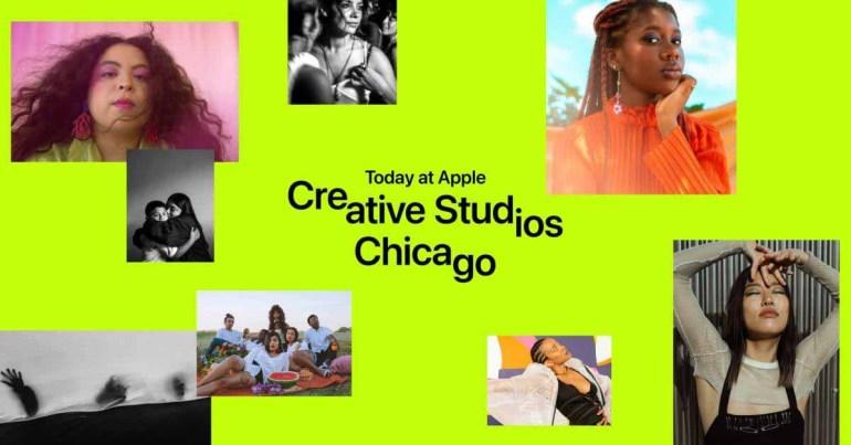 Сегодня в Apple Creative Studios расширяется до Чикаго и Вашингтона, округ Колумбия