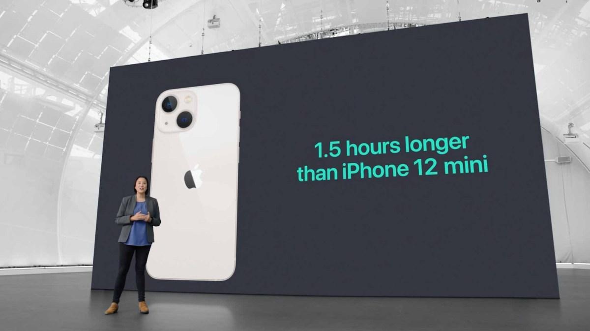 Время автономной работы iPhone 13 mini и 13 против 12 mini и 12
