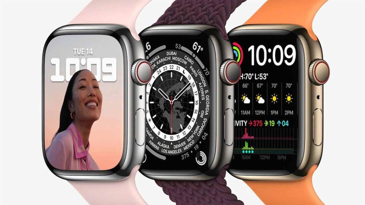 Apple Watch Series 6 и Series 7 доступны в тех же материалах корпуса.