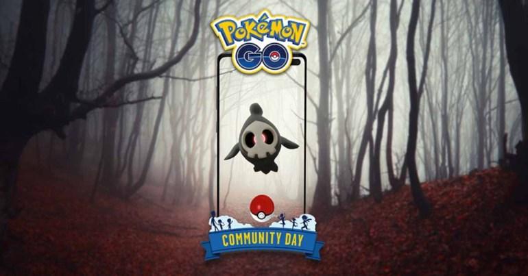 День сообщества Pokémon GO представляет Duskull, который готовится к Хэллоуину