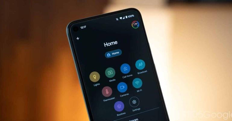Приложение Google Home получает пульт Android TV на Android и iOS