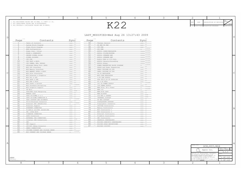 Apple Imac 21 5 A Schematic 820 A 051