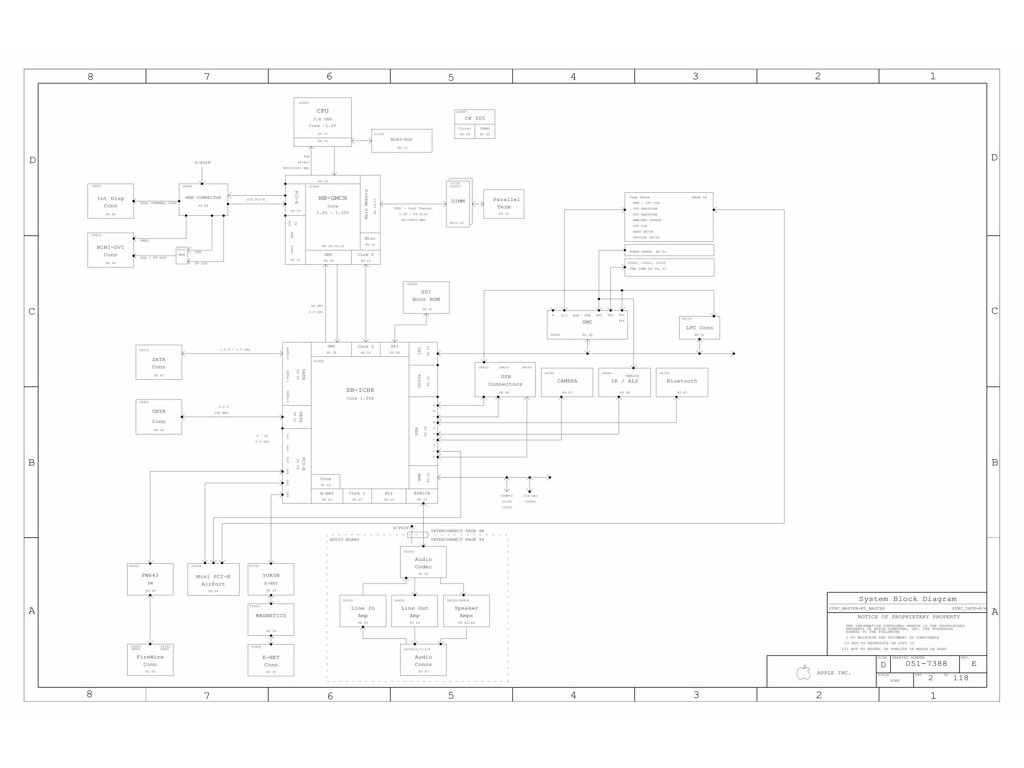 Apple Imac 20 Logic Board Schematic K2 Pvt Sch K2 Mlb