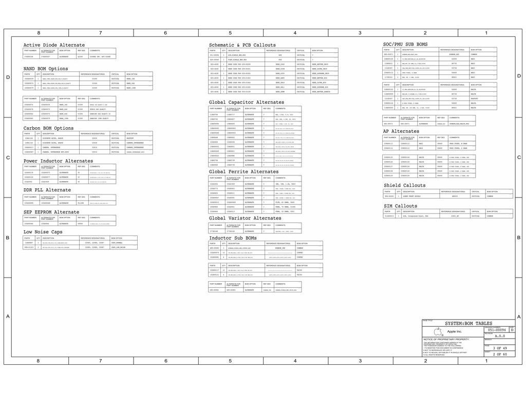 Apple Iphone 6 Plus N66 820 051 Schematic