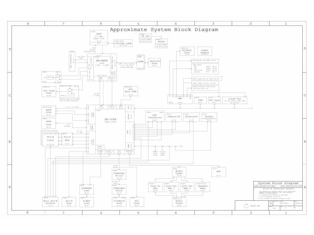 Apple Macbook Pro A Schematic 820 Schem Taupo