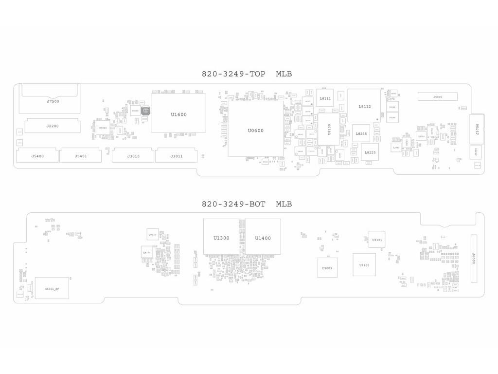 Apple Ipad4 Schematic 820 Ipad 4th Gen X140 Mlb