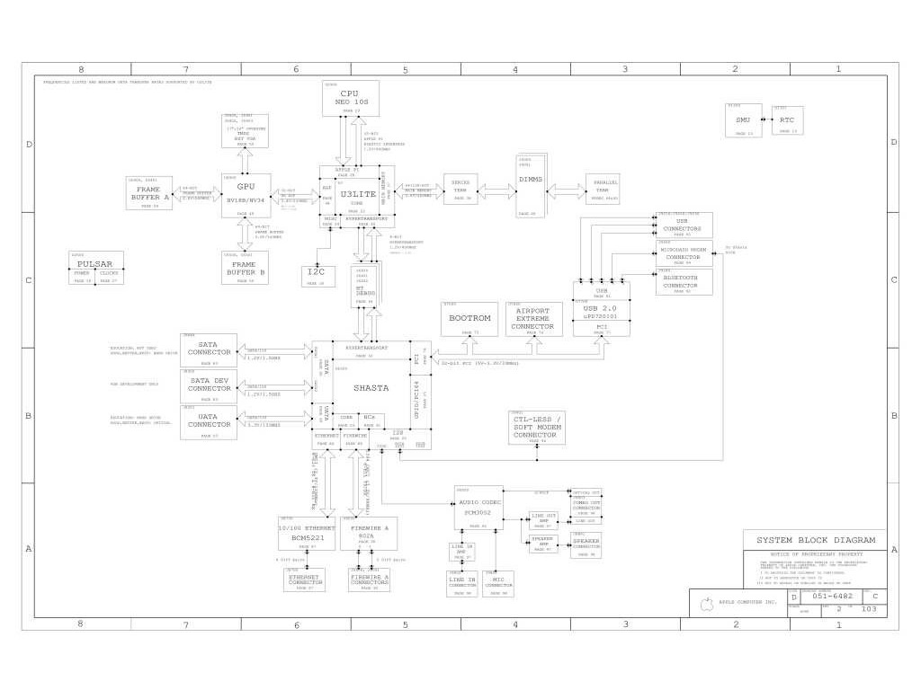 Apple Imac G5 17 Logic Board Schematic Apple Img5 Mlb