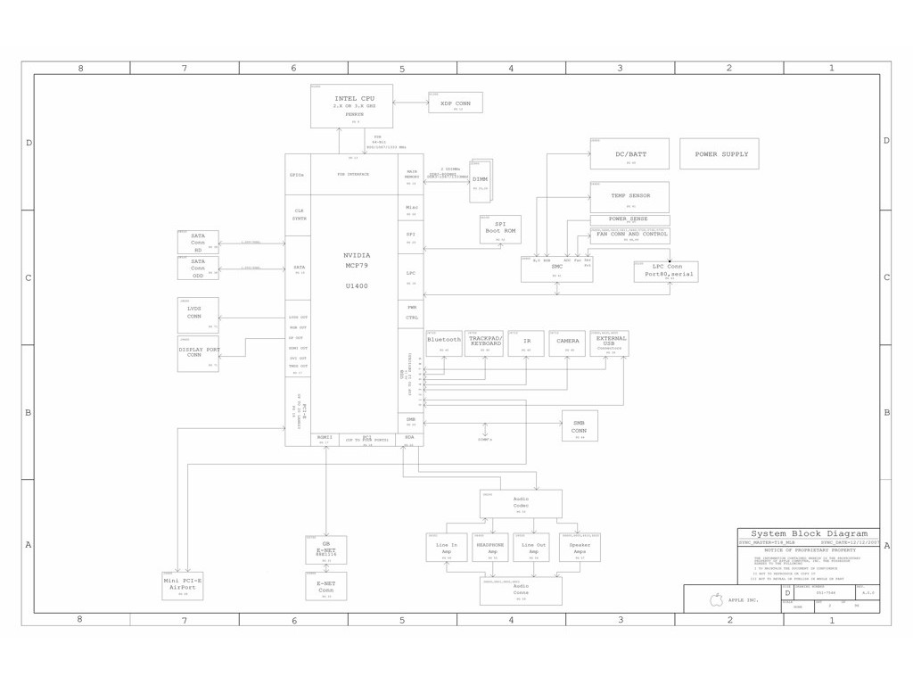Apple Macbook Unibody 15 A Schematic Schem Mbp 15