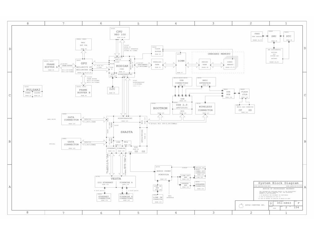 Apple Imac G5 20 Schematic Img5 20 Rev F Sch Mlb