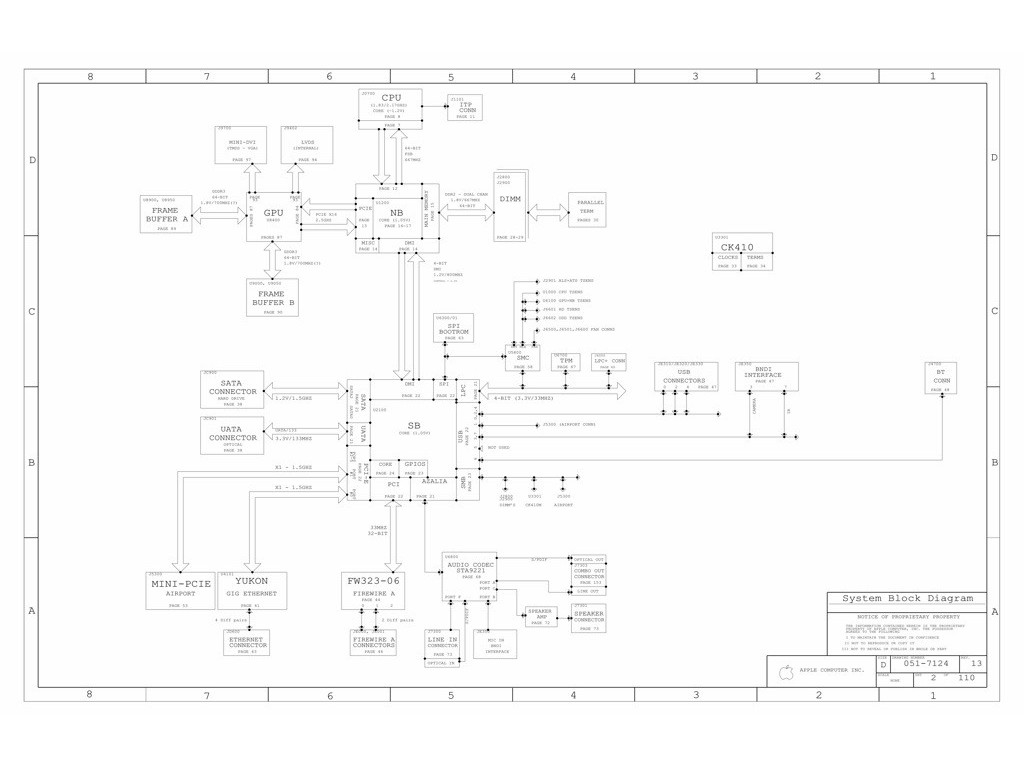 Apple Imac 20 Logic Board Schematic Apple M60 Evt